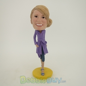 Picture of Windbreaker Woman Bobblehead