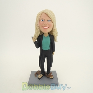 Picture of Woman and Snake Bobblehead
