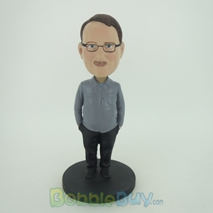 Picture of Man In Work Suit Bobblehead