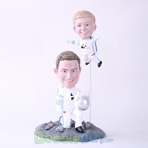 Picture of Astronaut Father & Son Bobblehead