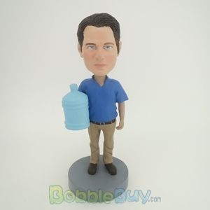Picture of Man With Water Bucket Bobblehead