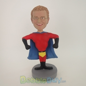 Picture of Male Muscle Man Super Hero Bobblehead