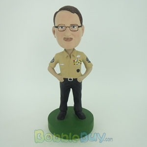 Picture of Male Police Officer Bobblehead