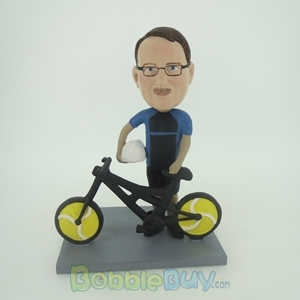 Picture of Man & Bicycle Bobblehead