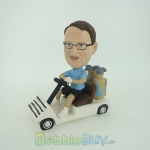 Picture of Man In Kart Bobblehead