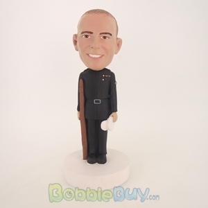 Picture of Military Officer Male Bobblehead