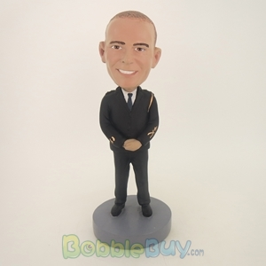 Picture of Police Uniform Man Bobblehead