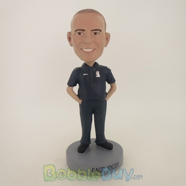 Picture of Security Guard Male Bobblehead