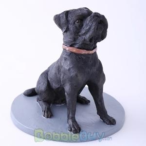 Picture of Black Pet Dog Sharpei Bobblehead